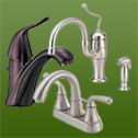 At Lowcountry Kitchen & Bath, we carry faucet lines made by Danze and Moen